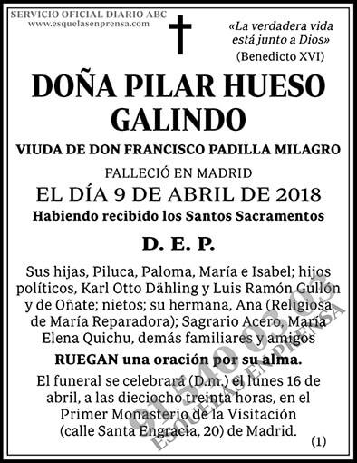 Pilar Hueso Galindo
